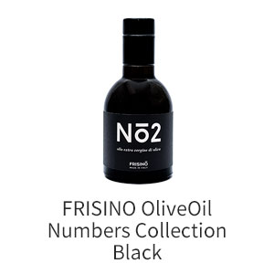 FRISINO OliveOil Numbers Collection Black